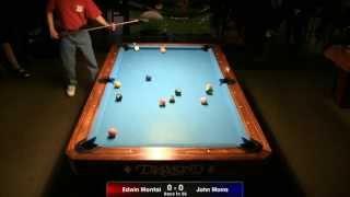 Edwin Montal Vs John Morra - 8-Ball