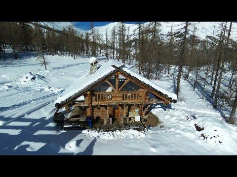 Survol de Val Pelens et de son petit domaine skiable