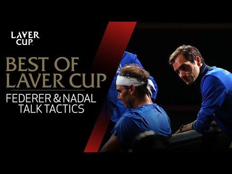 Federer and Nadal talk team tactics | Laver Cup 2017 (видео)