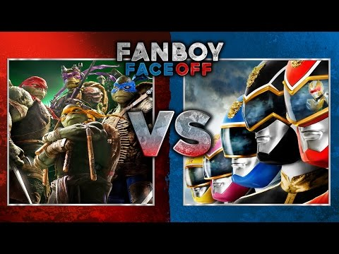 faceoff - Teenage Mutant Ninja Turtles vs Power Rangers: Fanboy Faceoff Subscribe Now! ▻ http://bit.ly/SubClevverMovies Our favorite childhood heroes battle it out as the Teenage Mutant Ninja Turtles...