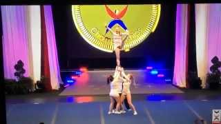 Whitestone United Kingdom  city photo : Team England All GIrl Stunt Cheerleading ICU Worlds 2014