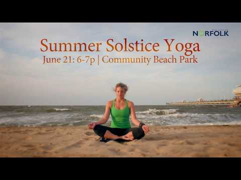 Summer Solstice Yoga @ Community Beach Park