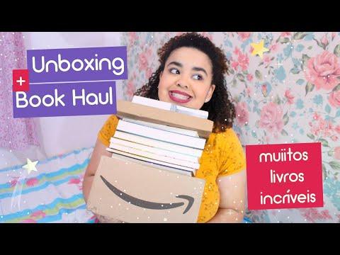 Unboxing + Bookhaul com livros incríveis   Estrelado