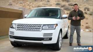 2013 Land Rover Range Rover Test Drive&Luxury SUV Video Review