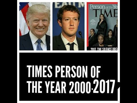 List of powerfull person of the year  by times magazine 2000-2017