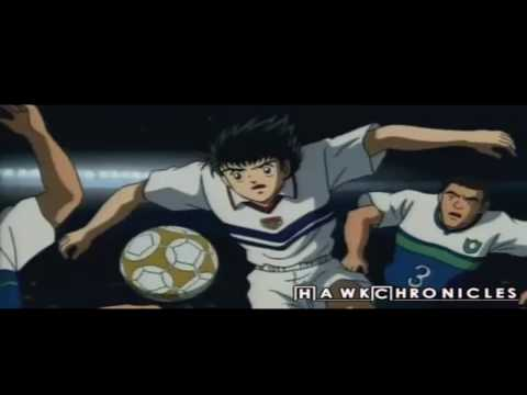 Captain tsubasa-waka waka(its time for africa) amv (видео)