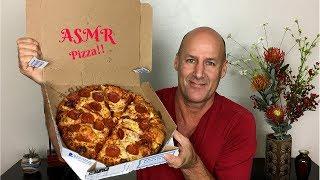 ASMR Eating Domino's Pizza~Soft Spoken