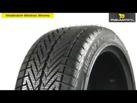 Youtube Vredestein Wintrac Xtreme 215/45 R17 91 V Zimní