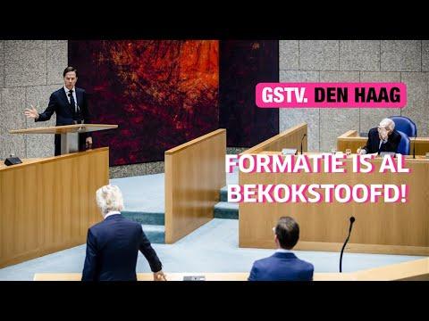 Mark Rutte: 'KABINET WILDERS 1 is nog steeds een optie'