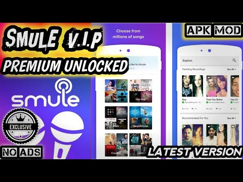 SING! SMULE V.I.P FINAL MOD 2019 | Apk Premium Unlocked Adfree Latest Version