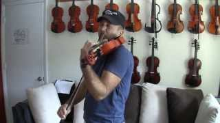 Dark Waltz played on a Fiddlerman Apprentice Violin