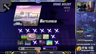 Oksas (Wolf) vs Oxy.2Jar (Luigi) Top 8 at Sandstorm