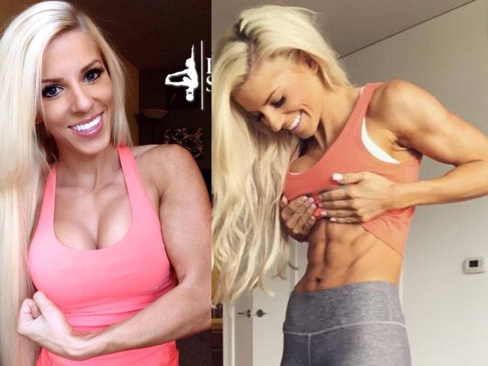 Heidi Somers BuffBunny Gym Workout Routine for Bikini Girls