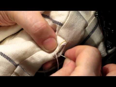Выкройка брюк с лампасами