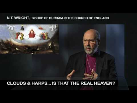 Clouds and Harps, Is that The Real Heaven? N.T. Wright on 100 Huntley Street (HD)