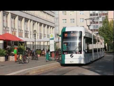Straßenbahn Potsdam // Mitfahrt in der neuen Variobah ...