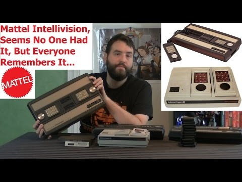 Second VideoGame Generation Recap - Mattel Intellivision - Adam Koralik