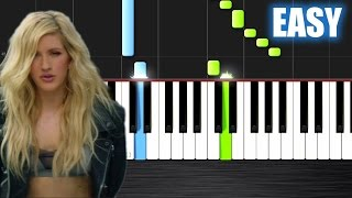 Calvin Harris - Outside ft. Ellie Goulding - EASY Piano Tutorial  Ноты и МИДИ (MIDI) можем выслать В