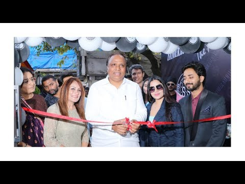 Ashish Shelar Along With Tik Tok Stars Unveils The Opening Of Sameer Salmani Salon At Bandra