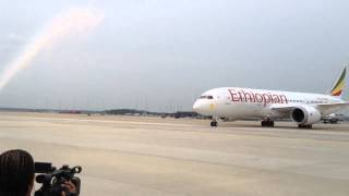 Ethiopian Airlines Boeing 787 Dreamliner At Washington Dulles