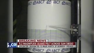 Borrego Springs (CA) United States  City pictures : 5.2M quake strikes near Borrego Springs