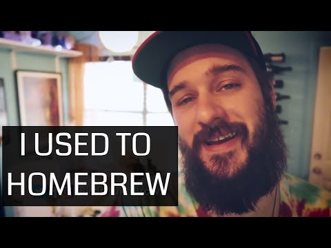 , title : 'I USED TO BREW BEER (my homebrew beer kit)'