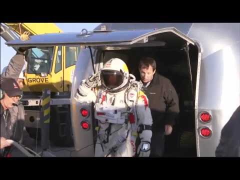 Team Stellar News - Red Bull Stratos Project - Test Jump from 71,500 feet