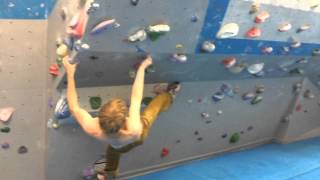 Murple link-up at Vauxwall by Louis Parkinson
