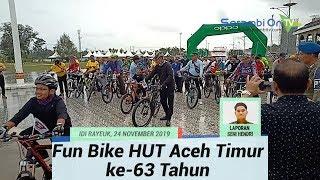 Fun Bike Hut Aceh Timur ke-63 Tahun Berhadiah Utama Tiga Sepeda Motor