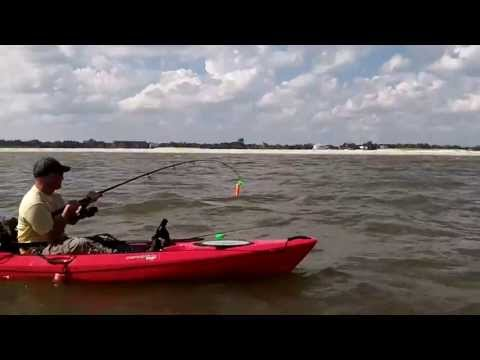 "Kayak Fishing Biloxi, MS ""The Meatpole"""