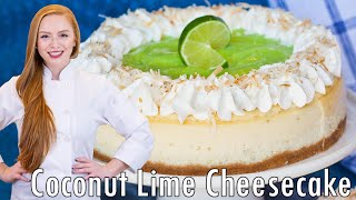 Coconut Lime Cheesecake by Tatyana's Everyday Food