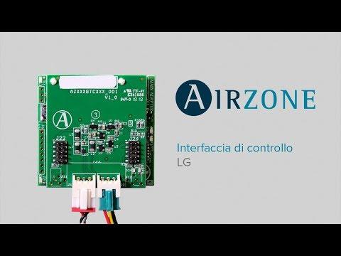 Interfaccia di comunicazione Airzone - LG
