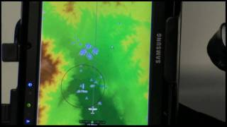 UltraTAWS high resolution terrain with MaxNAV navigational charts demonstrated on the Anywhere SST. UltraTAWS is an...