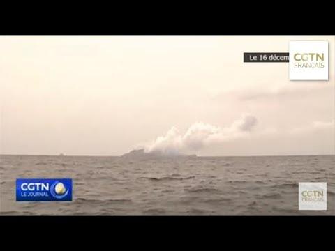 17 morts dans l'éruption du volcan de l'île Blanche