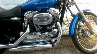 6. 2004 Stock Harley Sportster Custom XL 1200 C