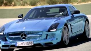 Mercedes-Benz SLS AMG Electric Drive Paris Motor Show 2012