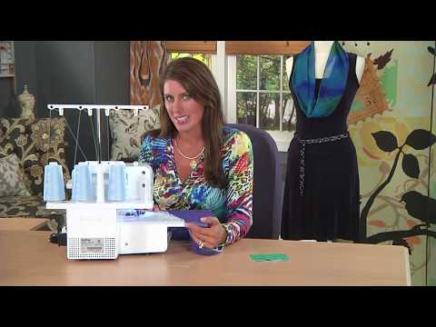 SERGING TIP: HOW TO START & STOP SERGER STITCHES IN THE MIDDLE OF A SEAM