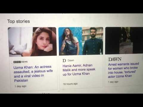 Uzma Khan   Latest Updates   Why I am unable to release the video