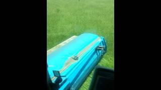Harvesting bahiagrass