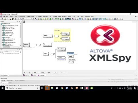 how to install altova xmlspy