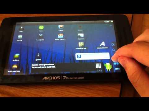 Archos 70 Internet Tablet a medio terminar!