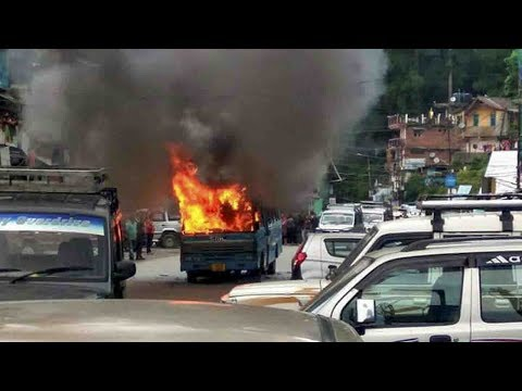 Darjeeling In A State Of Unrest  As GJM & Armed Forces Clash