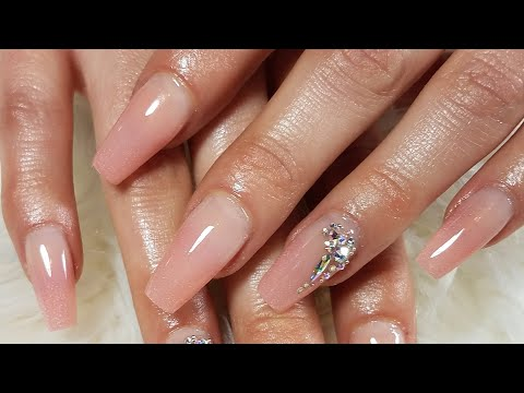 Uñas acrilicas - Hice Baby Bommer Pink Con 2 Covers.