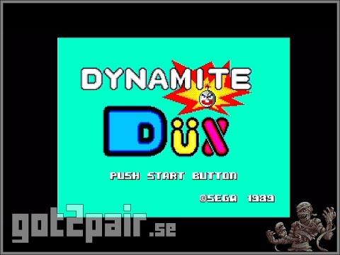 Dynamite Dux - Master System