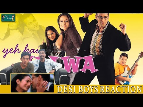 O Jaane Jigar Full Video Song   Yeh Hai Jalwa   Salmaan Khan, Amisha Patel   Reaction Desi Boys  