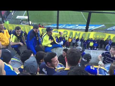 Video - Boca San Lorenzo 2015 - Entra la 12 - La 12 - Boca Juniors - Argentina