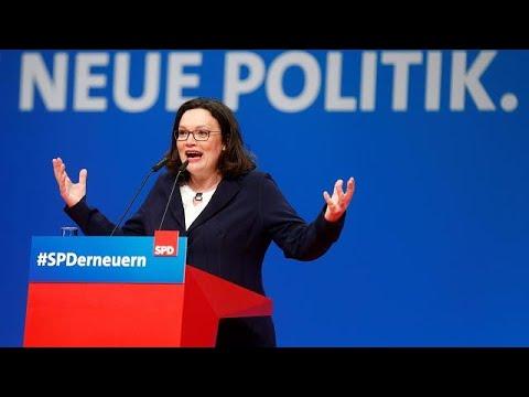 Άντρεα Νάλες: Ποια είναι η νέα πρόεδρος του SPD