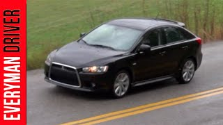 2013 Mitsubishi Lancer Sportback GT DETAILED Review On Everyman Driver