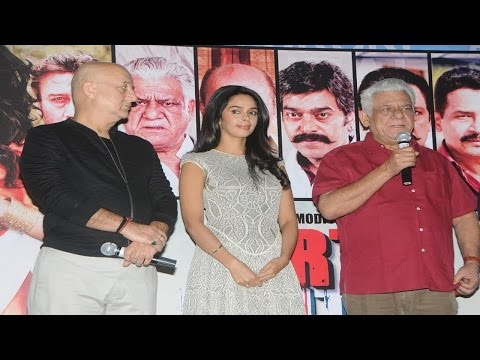 Trailer Launching Of Movie Dirty Politics With Mallika Sehrwat, Anupam Kher and Om Puri