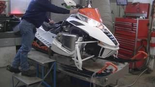 9. 2012 Arctic Cat F1100 Turbo - Sandale Fabrication
